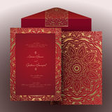Invitation arabic-2 Photo stock