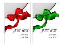 Invitation avec la bande Image stock