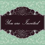 Invitation Background Stock Photo