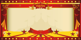 Invitation big top circus royalty free illustration