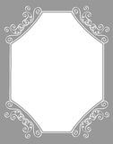 Invitation border / frame Royalty Free Stock Photography