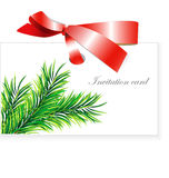 Invitation card. Universal template for greeting card, web page, background Stock Photo