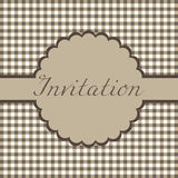 Invitation card Royalty Free Stock Photography