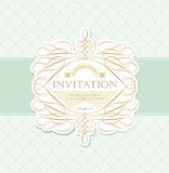 Invitation card Stock Photo