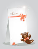 Invitation card Stock Image