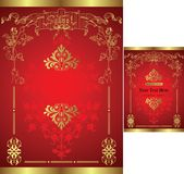 Invitation Card. Illustration of Invitation Card Template Royalty Free Stock Photography