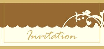 Invitation Card Stock Photography