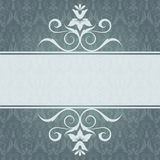 Elegant invitation card  with panel Royalty Free Stock Photos