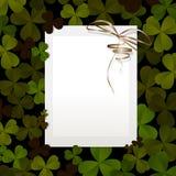 Invitation for St. Patricks Day Royalty Free Stock Photo