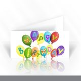 Invitation Card Design, Template Royalty Free Stock Images