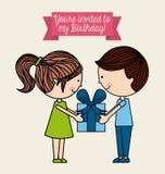 Invitation card Royalty Free Stock Image