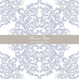 Invitation card with luxurious ornaments Royalty Free Stock Photo