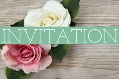 Invitation Card stock illustration