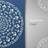 Invitation Card Template Royalty Free Stock Image