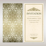 Invitation card template Royalty Free Stock Photography