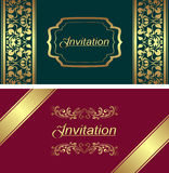 Invitation card template. Stock Images