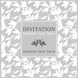 Invitation card Royalty Free Stock Photos