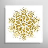 Vector islamic golden pattern Royalty Free Stock Images