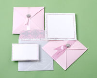 Invitation cards Royalty Free Stock Image