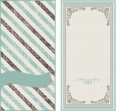 Invitation cards on vintage background with diagonal line. Set of invitation cards on vintage background with diagonal lines Stock Photography