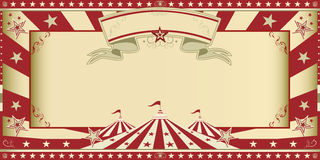 Invitation circus show Royalty Free Stock Photography
