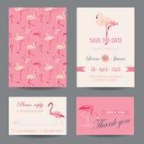 Invitation-Congratulation Card Set Royalty Free Stock Photos