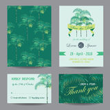 Invitation-Congratulation Card Set. Invitation/Congratulation Card Set - for Wedding, Baby Shower - in vector Royalty Free Stock Photos