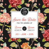 Invitation/Congratulation Card - for Wedding, Baby Shower Stock Photo