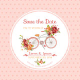 Invitation or Congratulation Card - for Wedding, Baby Shower Stock Photos