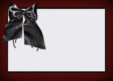 Invitation de carte de carte de Goth Images libres de droits