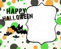 Invitation de Halloween Photos stock