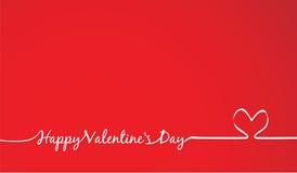 Invitation de jour de valentines Photo libre de droits
