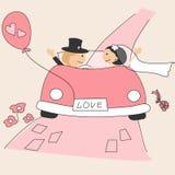 Invitation de mariage Photographie stock libre de droits