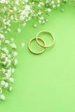 Invitation de mariage photo stock