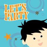 Invitation de réception illustration libre de droits