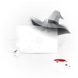 Invitation de réception de Veille de la toussaint Image stock