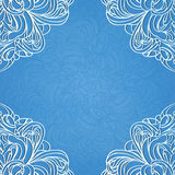Invitation decoration. With lace ornament. Eps10 Royalty Free Stock Photos