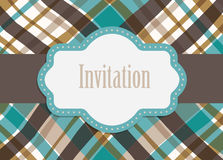Invitation design card vector Royalty Free Stock Images
