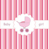 Invitation For Baby-shower Royalty Free Stock Photo