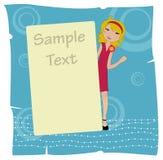 Invitation frame Royalty Free Stock Photo