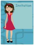 Invitation frame Stock Photography