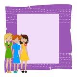 Invitation frame Royalty Free Stock Image
