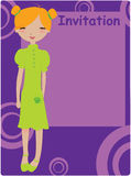 Invitation frame Royalty Free Stock Photography