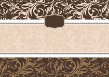 Invitation frame Royalty Free Stock Images