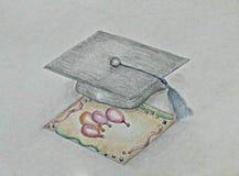 Invitation Graduate Royalty Free Stock Photo