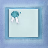 Invitation or greeting card Royalty Free Stock Photography
