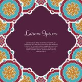 Abstract ornamental background Royalty Free Stock Photo
