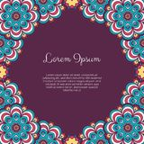 Abstract ornamental background Stock Photo