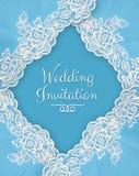 Invitation, greeting or wedding card. Royalty Free Stock Image