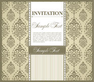 Invitation gretting card Royalty Free Stock Photo